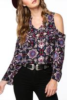 Everly Cold Shoulder Blouse