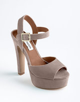 STEVE MADDEN Dynemite Suede Sandals