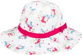 Jo-Jo JoJo Maman Bebe Floppy Sun Hat (Baby/Toddler) - Blossom-3-5