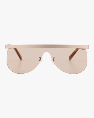 Courreges The Mask 99mm Flat Top Shield Shield Sunglasses