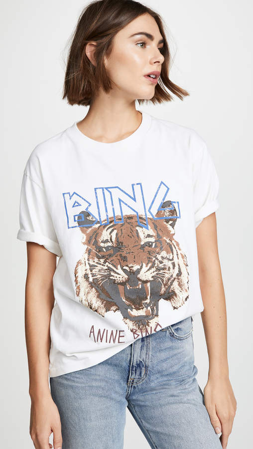 Anine Bing Tiger Tee