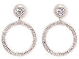 Eddie Borgo 'Voyager' cubic zirconia hoop earrings