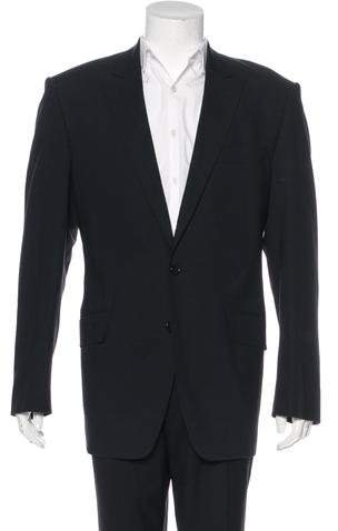 Dolce & Gabbana Wool-Blend Two-Button Blazer