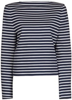 horizontal stripe top