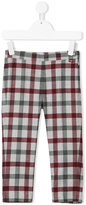 Il Gufo plaid tailored trousers