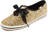 Kate Spade Glitter Tuxedo Bow Sneakers