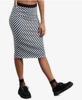 Volcom Juniors' Futures Past Stretch Midi Skirt