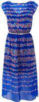 Women's Warehouse Stripe floral midi dress