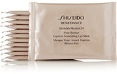 Shiseido Benefiance Wrinkleresist24 Pure Retinol Eye Masks X 12 - one size