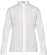 Haider Ackermann Byron Button-down Cotton Shirt