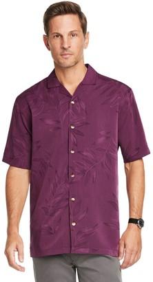 Van Heusen Men's Air Camp Classic-Fit Floral Button-Down Shirt