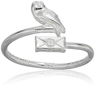Alex and Ani Women's Harry Potter Owl Post Ring Wrap