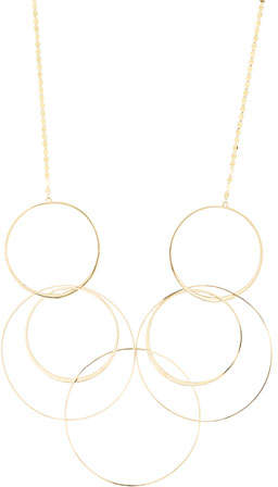 Lana Bond Long Link Necklace in 14K Yellow Gold