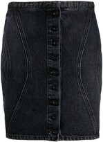 Marcelo Burlon County of Milan Denim Mini Skirt