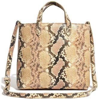 Madewell Snakeskin Print Transport Crossbody Bag