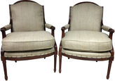 One Kings Lane Vintage French-Style Chairs by Baker, S/2