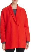 Eileen Fisher Shawl Collar Merino Wool Jacket