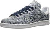 adidas Women Originals Blue Geology Stan Smith Shoes #BB3009