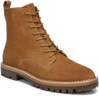 Vince Cabria Lug Water Resistant Lace-Up Boot