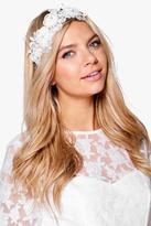 Boohoo Abbie Bridal Vintage Floral Headband