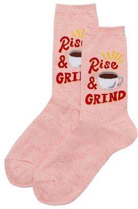 Hot Sox Rise And Grind Crew Socks