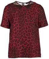 SET Print Tshirt red/grey