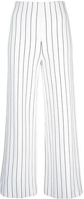 Rosetta Getty striped flared trousers