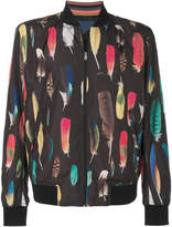 Paul Smith feather print bomber