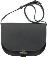 A.P.C. Women's Grey Leather Shoulder Bag.