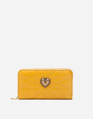 Dolce & Gabbana Zip Around Devotion Wallet