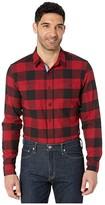 Dockers Smart Temp Flannel (Borden Biking Red Plaid) Men's Clothing