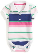 Tommy Hilfiger Final Sale- Fresh Stripe Polo Bodysuit