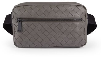 Bottega Veneta Zip Leather Belt Bag