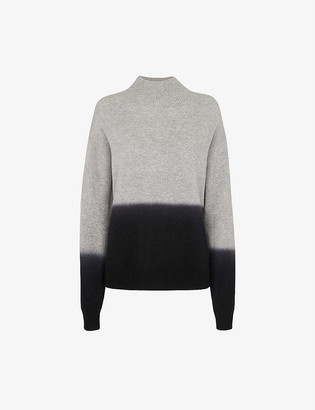 Whistles Funnel-neck wool jumper