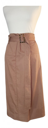 By Malene Birger Camel Cotton Skirts