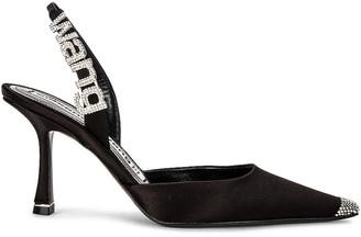 Alexander Wang Grace 85 Heel in Black | FWRD
