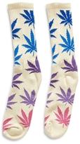 HUF Fader Plantlife Crew Sock Tan