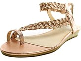 Very Volatile Aphrodite Open Toe Leather Thong Sandal.