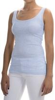 Cynthia Rowley Pima Cotton-Modal Stretch Tank Top (For Women)
