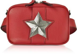 Leather Vega Belt Bag w/Chain Strap