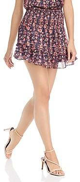 Aqua Smocked Floral Paisley Skirt - 100% Exclusive