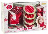 Champion NEW Red Heart Tin Tea Set 15pce