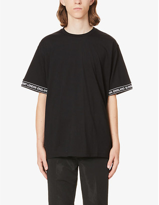 Burberry Teslow oversized cotton-jersey T-shirt