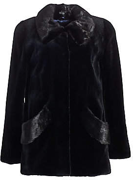 The Fur Salon Women's Sheared Mink Fur Jacket