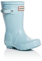 Hunter Girls' Glitter Rain Boots - Toddler