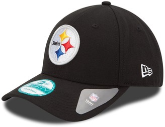 New Era Youth Black Pittsburgh Steelers League 9FORTY Adjustable Hat