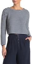 Faherty Brand Biarritz Striped Crop Sweater