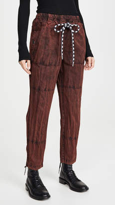 Proenza Schouler Pswl Drawcord Pants