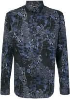 Just Cavalli snakeskin print shirt