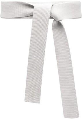 Sminfinity Obi knitted knot belt